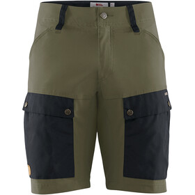 Fjällräven Keb Shorts Heren, dark navy/light olive